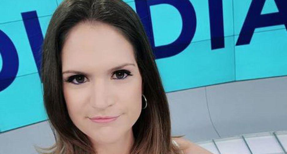 La presentadora de televisión se mostró indignada por lo sucedido.(Instagram)