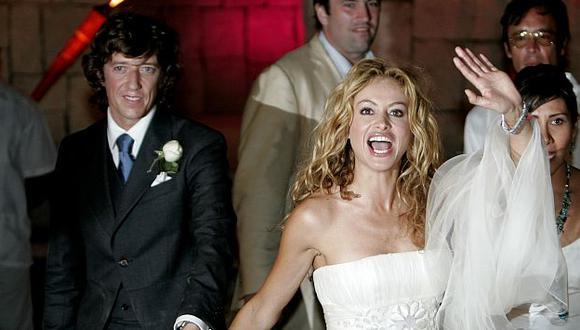 Rubio durante su boda en 2007. (AP)