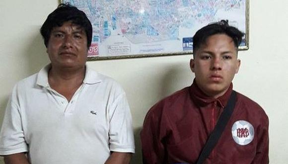 A los detenidos se les incautaron dos armas de fuego. Un tercero quedó herido de bala.