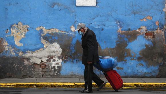 Cifras del Ministerio de Salud indican que el 70% de los fallecidos por la COVID-19 en el Perú son mayores de 60 años. (Foto:)