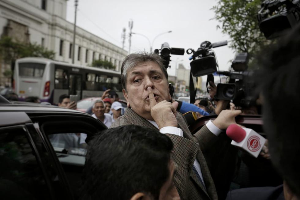 Migraciones pide reforzar fronteras para evitar salida de Alan García. (Anthony Niño de Guzmán)