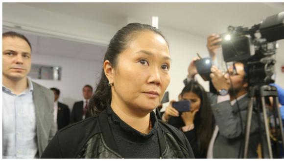 72% cree que Keiko Fujimori debe enfrentar investigación por lavado de activos desde la prisión. (GEC)