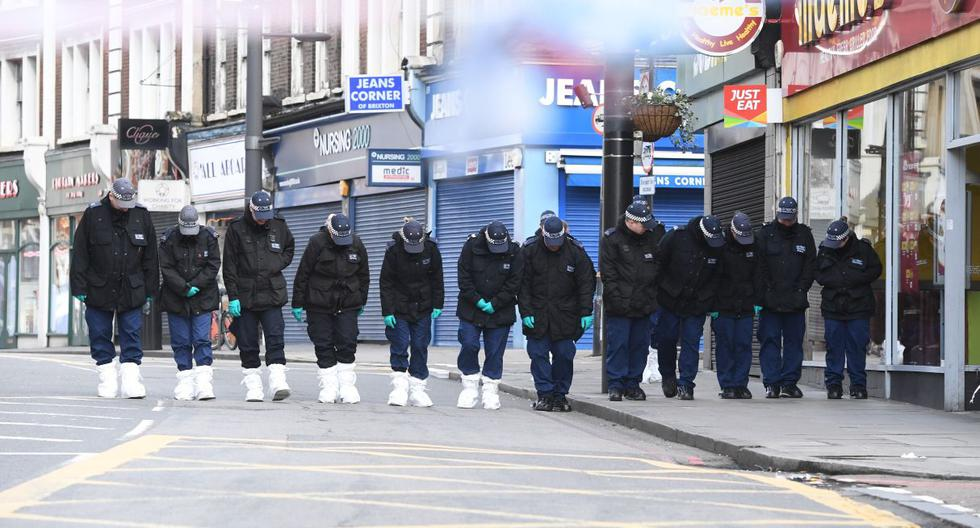 """Desde ayer, diferentes figuras de Reino Unido calificaron el atentado como """"terrorista"""" luego que el agresor fuera abatido. (EFE)."""
