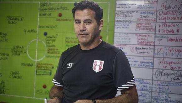 A pesar de la incertidumbre, Danie Ahmed confía en que Perú sacará un buen resultado ante Colombia. (Perú21)
