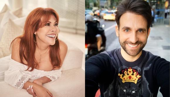 Magaly Medina y Peluchín confirman su reconciliación con video donde aparecen bailando reguetón  (Foto: Instagram)