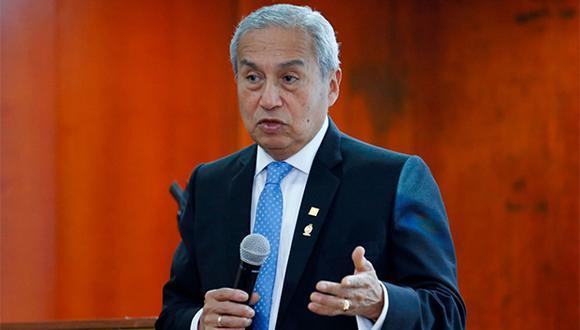 Pedro Chávarry, fiscal de la Nación, está siendo parte de un proceso en la Subcomisión de Acusaciones Constitucionales. (Foto: Agencia Andina)