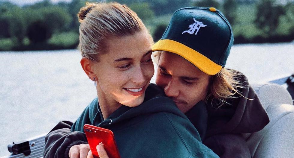 Hailey Baldwin y Justin Bieber muestran su amor en Instagram. (Fotos: Instagram)