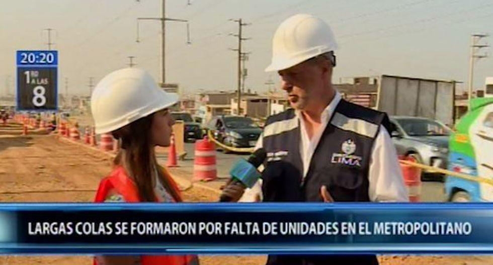 El alcalde de Lima,Jorge Muñoz, señaló que ya se tiene casi concluido el expediente sobre la ampliación del Metropolitano hasta Carabayllo. (Canal N)