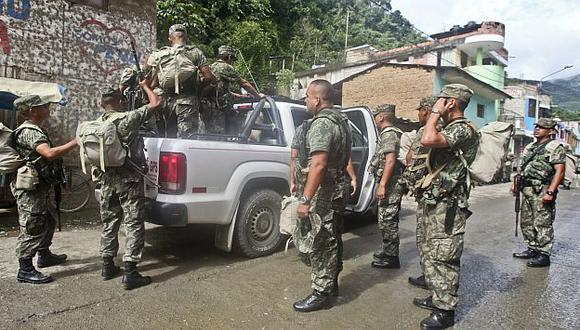 Patrullas de las fuerzas combinadas realizan operativos en el VRAEM. (USI)