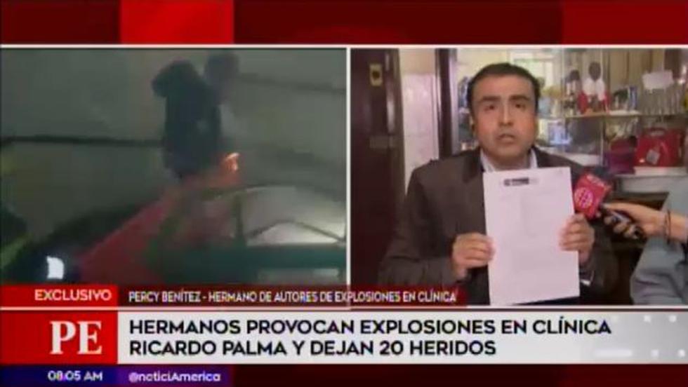 Hermano de los autores del crimen expresa su rechazo ante las actitudes de sus hermanos. (Foto: América TV)