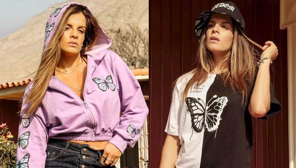 Alejandra Baigorria emocionada porque su marca de ropa ingresó a una tienda por departamento. (Foto: Instagram)