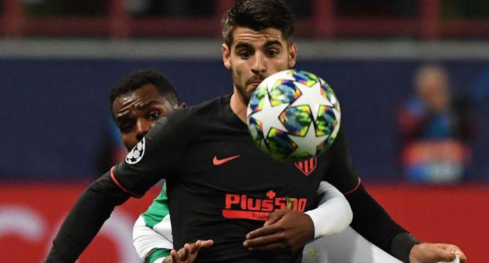 Atlético de Madrid vs. Lokomotiv: chocan en el Wanda Metropolitano por el Grupo D de la Champions League. (Foto: AFP)