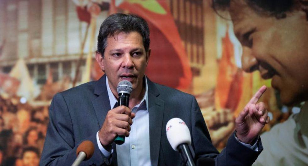 """""""Los casos de violencia se han multiplicado"""", advirtió Fernando Haddad durante una rueda de prensa en Sao Paulo. (Foto: EFE)"""