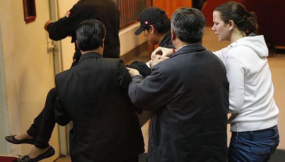 Hija de Fefer fue llevada de emergencia al hospital Hipólito Unanue y luego a la clínica San Borja (Luis Gonzáles)