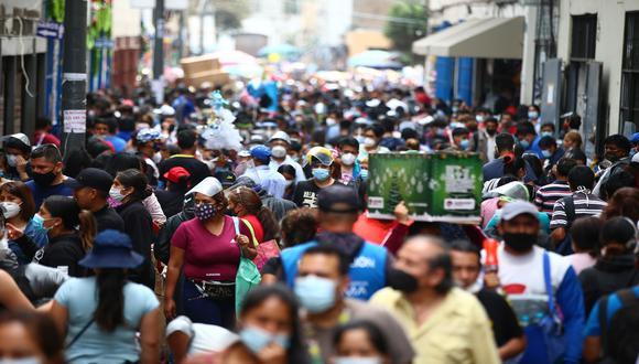 EsSalud actualizó información del Mapa de Calor que identifica el avance de la pandemia del COVID-19 en el país. (Foto: Hugo Curotto/GEC)