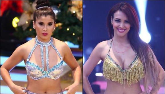 Yahaira Plasencia hizo seria advertencia a Rosángela Espinoza . (USI)