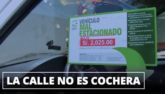 Si vas a San Isidro, evita que tu vehículo sea remolcado revisando el Reglamento Nacional de Tránsito.