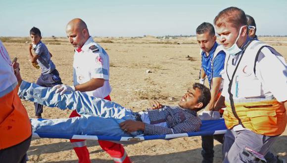 El sistema de salud público en Gaza sufre una limitación de suministros y medicamentos por las restricciones. (Foto: AFP)