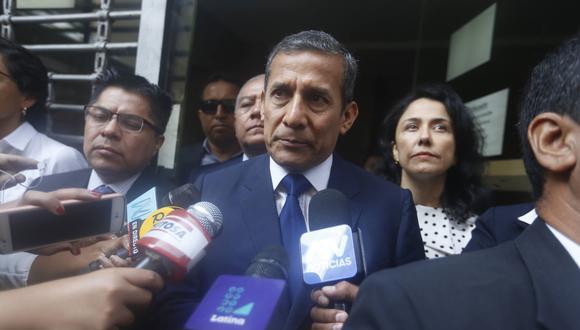 Ollanta Humala y Nadine Heredia (Mario Zapata/Perú21)