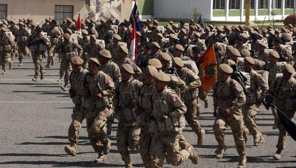 Según el Gobierno, en 6 meses se puede entrenar a los soldados que enfrentarán al narcoterrorismo en el VRAEM. (H. Aparicio)