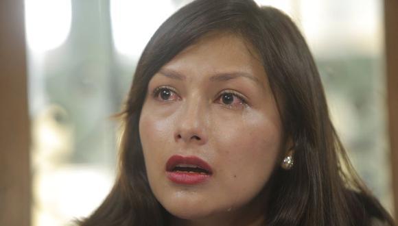 """Arlette Contreras señaló a este diario que el Poder Judicial """"es cómplice de los asesinos y violadores"""". (LuisCenturión/Perú21)"""