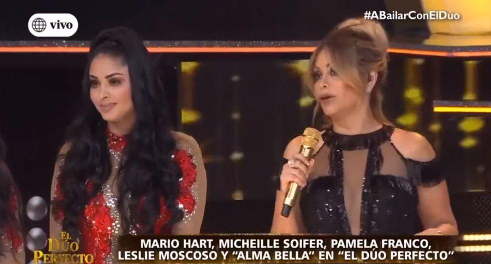 """Pamela Franco: Así le respondió a Gisela Valcárcel por llamarla """"gusana"""". (Foto: Captura de video)"""