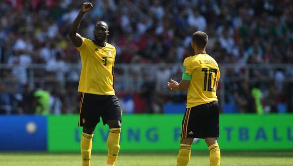 La Selección de Bélgica quedó en el tercer lugar en el Mundial Rusia 2018. (Foto: AFP)