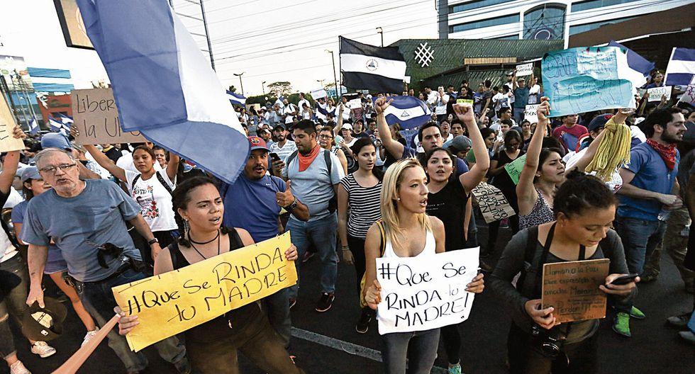 GRAVE CRISIS. Las protestas en Nicaragua llevan más de 100 días. (USI)
