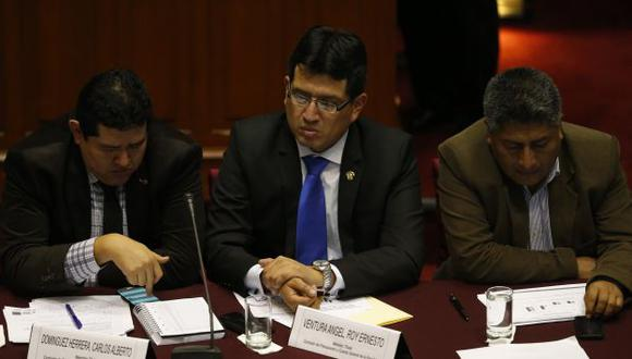 Congresista Roy Ventura criticó falta de colaboración de titular de Transportes, Bruno Giuffra.
