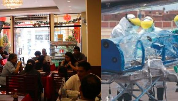 Restaurante chino dará almuerzos gratis en Chorrillos. (Composición)