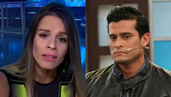 """Alejandra Baigorria arremete contra Christian Domínguez y le piede que """"cierre el pico""""."""
