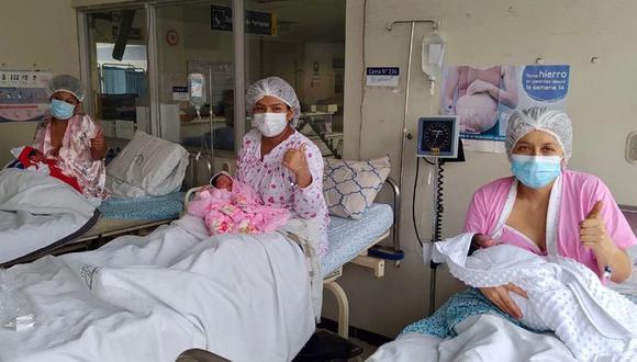 Las mamás primerizas pudieron afrontar su embarazo en medio de la pandemia del coronavirus (COVID-19). (Foto: Ministerio de Salud)