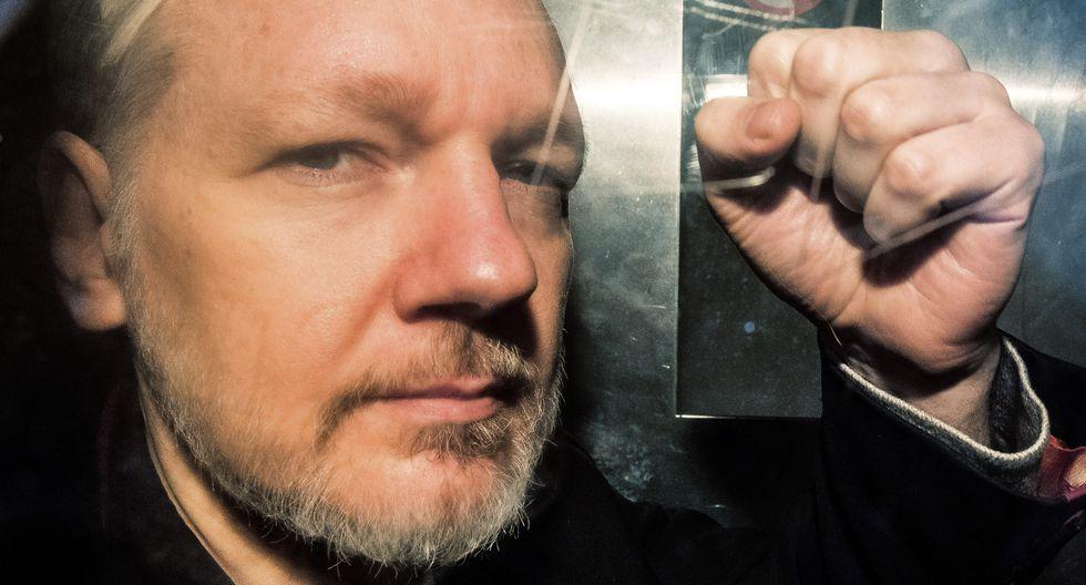 Julian Assange es buscado en los EE.UU. para enfrentar 18 cargos. (AFP).