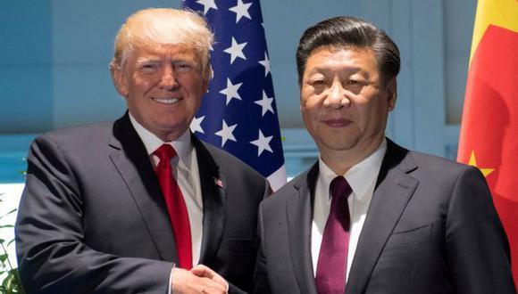 Donald Trump fue llamado por Xi Jinping para calmar las tensiones con Corea del Norte. (Reuters)