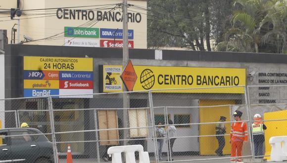 Dinero iba a centro bancario, que se encuentra ubicado en Santiago de Surco.
