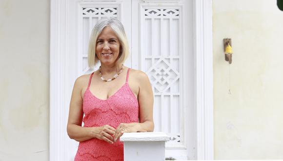 Alina Gadea dejó el Derecho para abrazar la literatura.