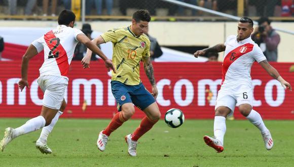 James Rodríguez ha sido desconvocado por la selección colombiana. (Foto: AFP)