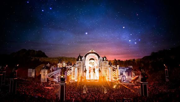 Los escenarios de Tomorrowland 2020 fueron The Mainstage, Core, Elixir Club, Q-Dance, Freedom, The Cave, Afterlife y Atmosphere. (Facebook/Tomorrrowland)