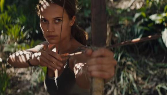 Alicia Vikander será la nueva 'Lara Croft' (YouTube/Warner Bros)