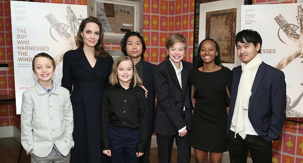 Angelina Jolie habría dejado su fortuna de US$116 millones a su hijo Madoxx. (Getty)