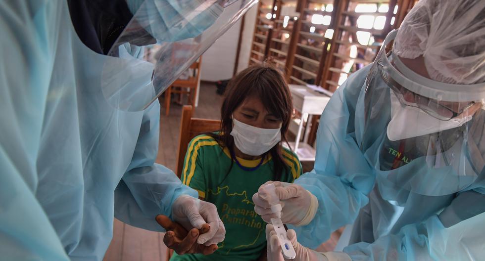 El primer deceso por COVID-19 en Brasil se registró el 16 de marzo, más de dos meses después del inicio de la pandemia en China. (Foto: NELSON ALMEIDA / AFP)