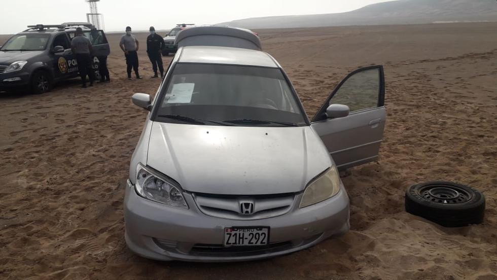 Los militares y policías en Moquegua tuvieron que hacer disparos disuasivos para poder detener al infractor. (Foto: Fuerzas Armadas)