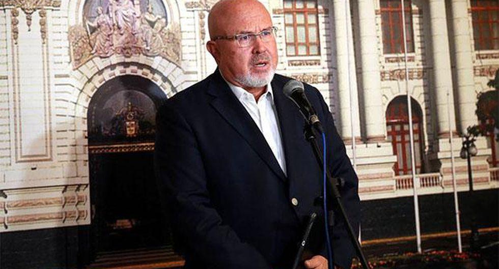 """Bruce: Vizcarra entró a la plancha de PPK porque habían """"demasiados blancos y necesitaban un provinciano"""". (Andina)"""
