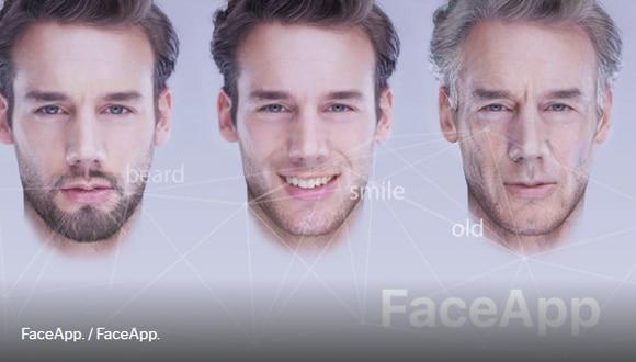 La app que envejece. Los usuarios pueden probar cómo se verán con el paso del tiempo.