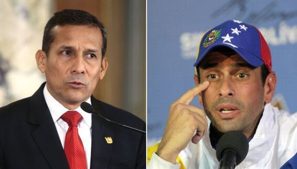Facchín desmintió a la canciller Rivas, quien ayer afirmó que no había recibido ninguna carta de Capriles. (USI/AP)