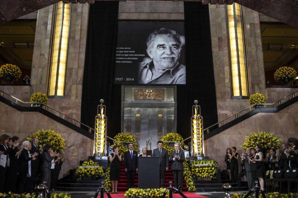 Su funeral se llevó a cabo en México, en el Palacio de Bellas Artes en 2014. (Getty)