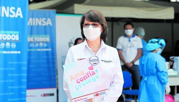 Decepción: Pilar Mazzetti traicionó confianza de millones de peruanos. (Foto: Violeta Ayasta/GEC)