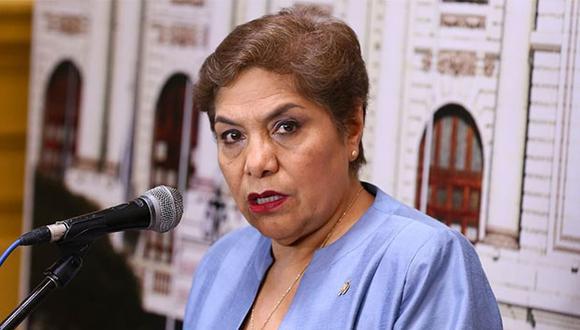 """""""Creo que, lo que menos debemos empezar a hacer, es criticar esas decisiones"""", señaló Salgado. (Foto: Agencia Andina)"""