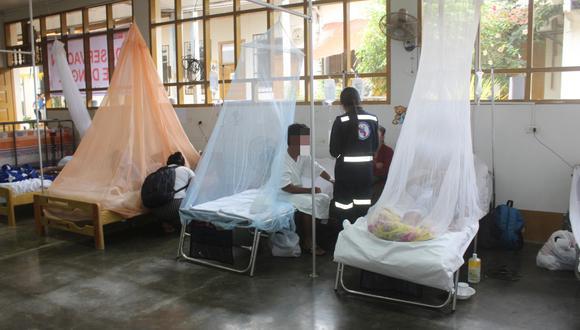 Casos reportados por dengue superan los 14 mil. (Foto: GEC)