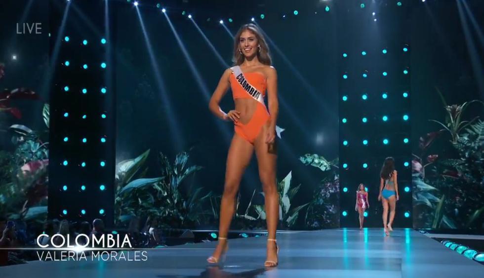 Valeria Morales, Miss Colombia. (Foto: Captura de video)